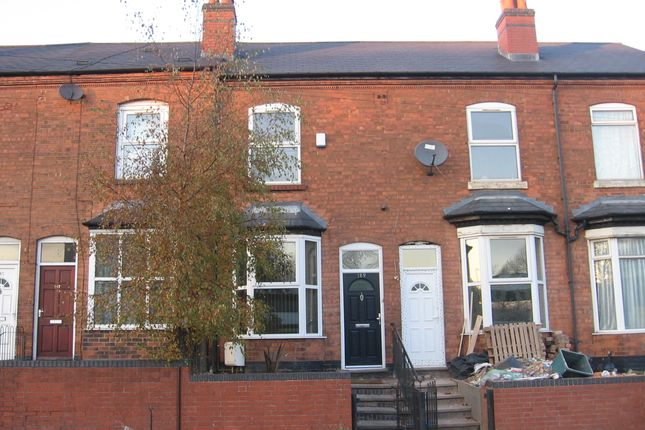 Thumbnail Terraced house to rent in Wellington Road, Perry Barr, Birmingham