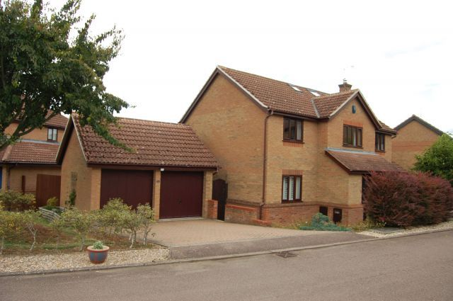 Thumbnail Detached house for sale in Tebbitt Close, Long Buckby, Northampton