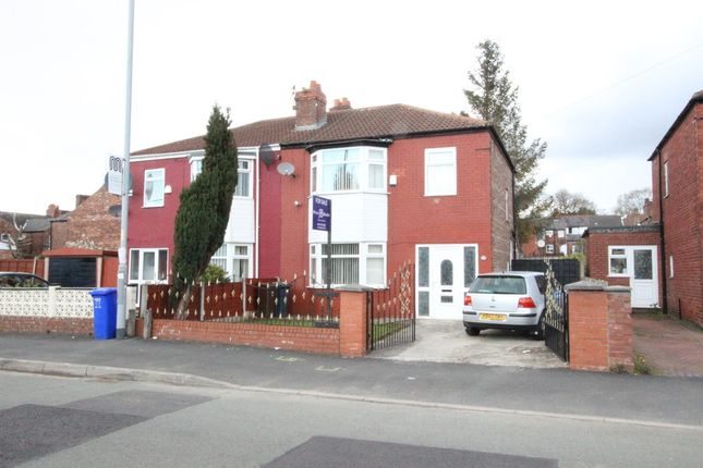 Thumbnail Semi-detached house for sale in Manley Road, Manchester