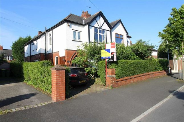 Thumbnail Town house for sale in The Crescent, Ashton-On-Ribble, Preston