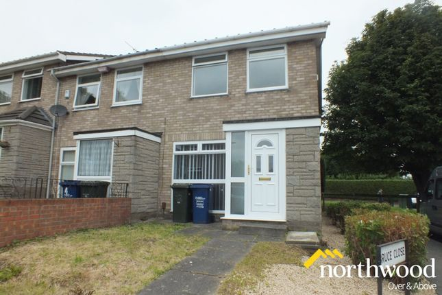 Thumbnail Terraced house to rent in Bruce Close, Westerhope, Newcastle Upon Tyne