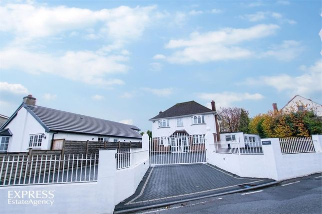 Thumbnail Detached house for sale in Rudry Road, Lisvane, Cardiff, South Glamorgan