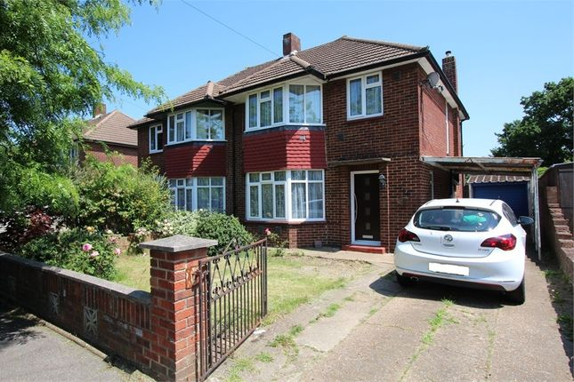 Thumbnail Semi-detached house for sale in Clare Road, Stanwell, Stanies-Upon-Thames, Surrey