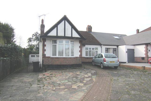 Thumbnail Semi-detached bungalow to rent in Wickham Road, Croydon