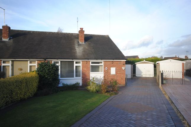 Thumbnail Semi-detached bungalow to rent in Cedar Close, Market Drayton