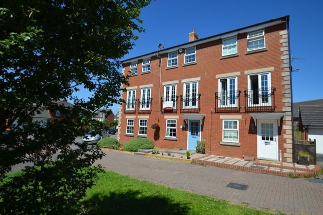 Thumbnail Town house to rent in Grosmont Way, Celtic Horizons, Newport