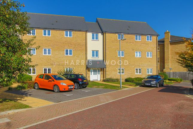 Thumbnail Flat for sale in Weyland Drive, Stanway, Colchester
