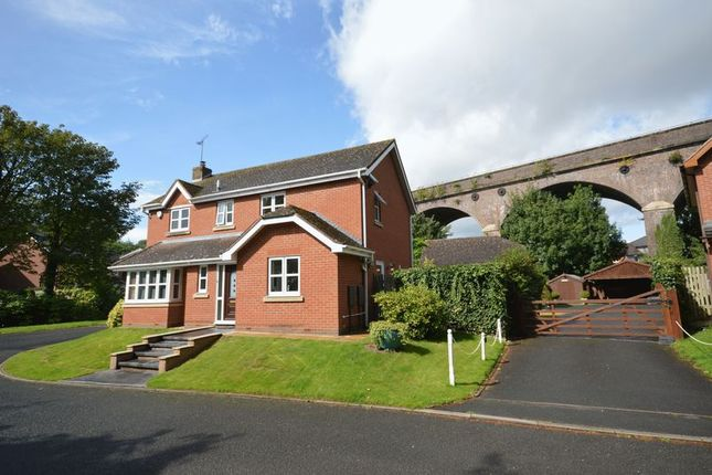 Thumbnail 4 bed detached house for sale in Church Meadow, Shifnal, Shropshire.
