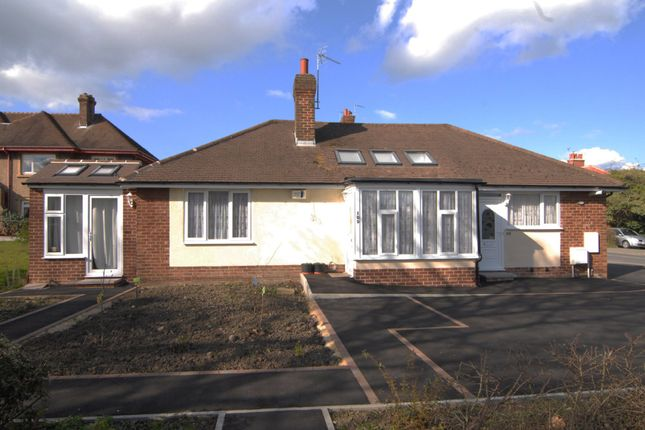 Thumbnail Semi-detached bungalow to rent in Knaresborough Road, Harrogate