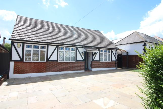 Thumbnail Detached bungalow for sale in Charminster Road, Worceser Park, Surrey
