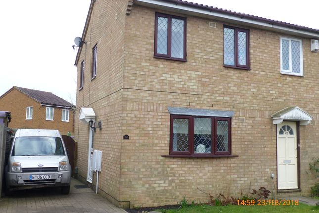 2 bed semi-detached house to rent in Hedley Rise, Wigmore, Luton