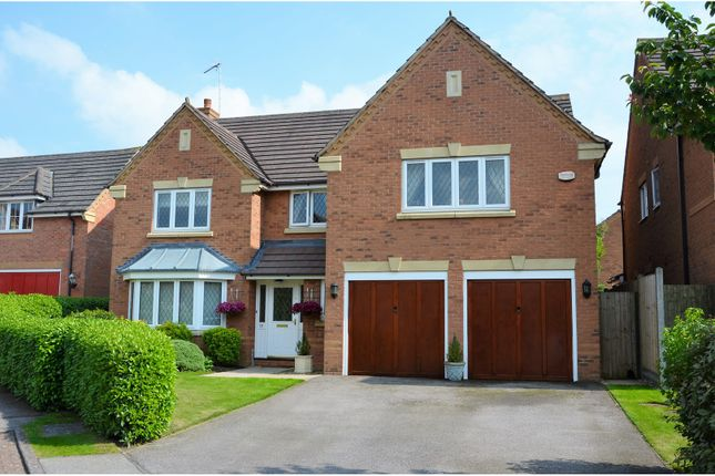 Thumbnail Detached house for sale in Scythe Road, Lang Farm, Daventry