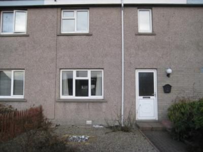 Thumbnail Terraced house to rent in Silverbank Gardens, Banchory