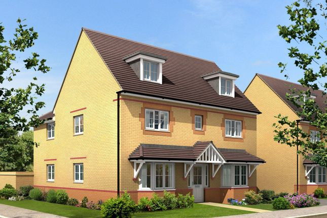"Thumbnail Detached house for sale in ""Stratford"" at Lanelay Road, Talbot Green, Pontyclun"