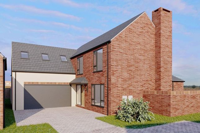 Thumbnail Detached house for sale in Plot 5, Moorcroft Farm, Crowle