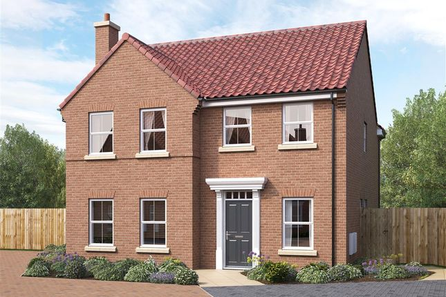 Thumbnail Detached house for sale in Lightowler Close, Cherry Burton, Beverley