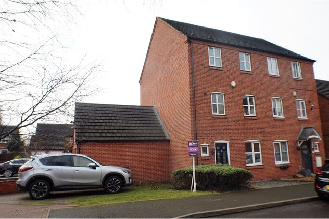 Thumbnail Semi-detached house for sale in Bridgeside Close, Walsall
