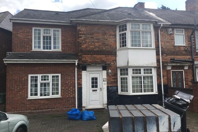 Thumbnail Semi-detached house to rent in Furnhurst Road, Birmingham