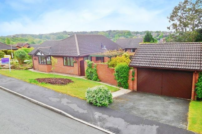 Thumbnail Detached bungalow for sale in Brockhill, Loggerheads, Market Drayton