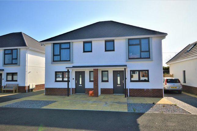 Thumbnail Semi-detached house for sale in Wherry Close, Threemilestone, Truro