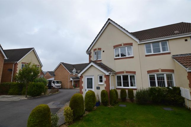 3 bed semi-detached house for sale in Bluebell Drive, Llanharan, Pontyclun