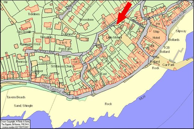 Location of Chapel Terrace, St. Mawes, Truro TR2