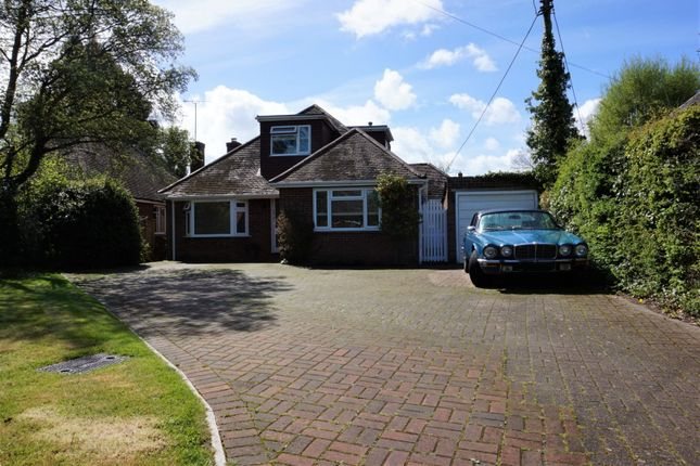 Thumbnail Detached bungalow for sale in Gally Hill Road, Fleet