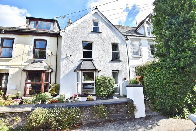 Thumbnail End terrace house for sale in Egloshayle Road, Wadebridge