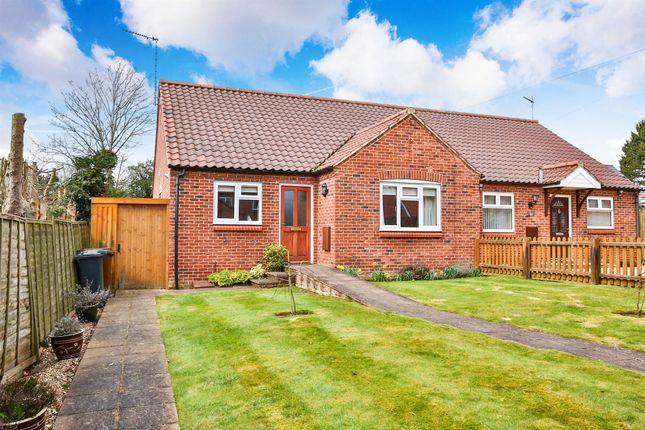 Thumbnail Semi-detached bungalow for sale in Railway Close, Fakenham