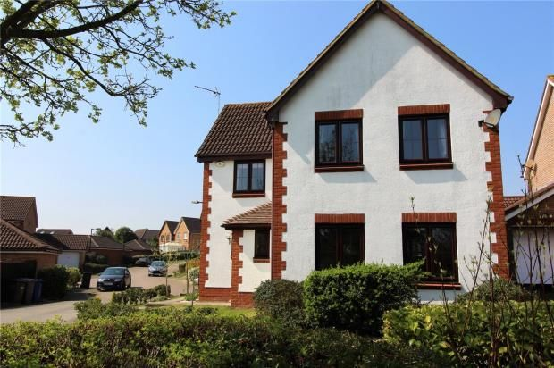 Thumbnail Detached house for sale in Lavender Field, Haverhill, Suffolk