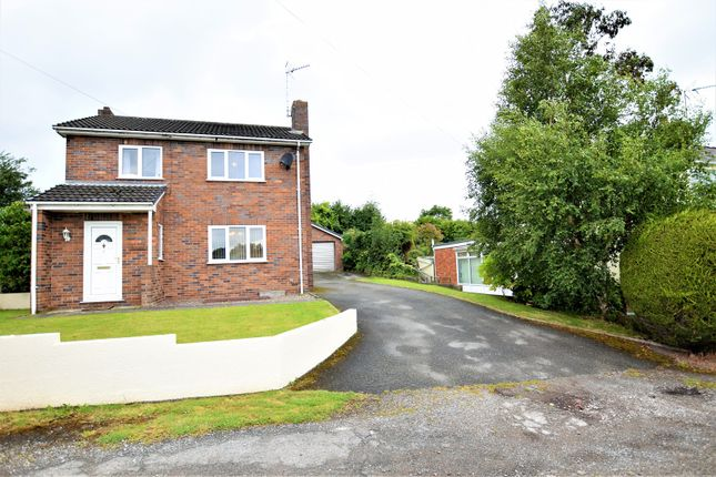 Thumbnail Detached house for sale in Heol Offa, Wrexham
