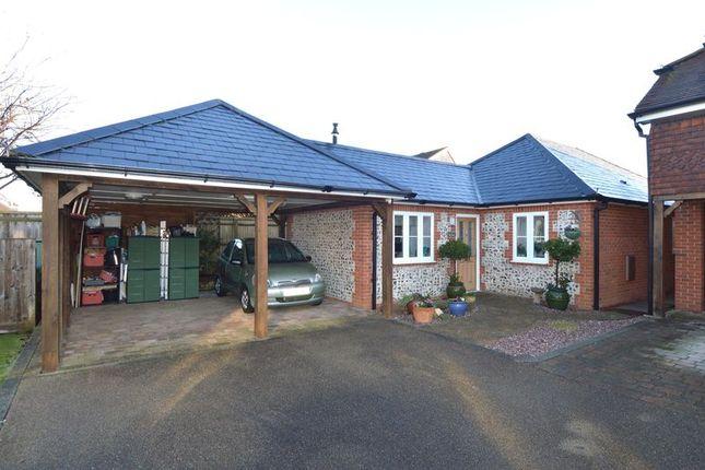 Thumbnail Detached bungalow for sale in Amberley Court, Stubbington, Fareham.