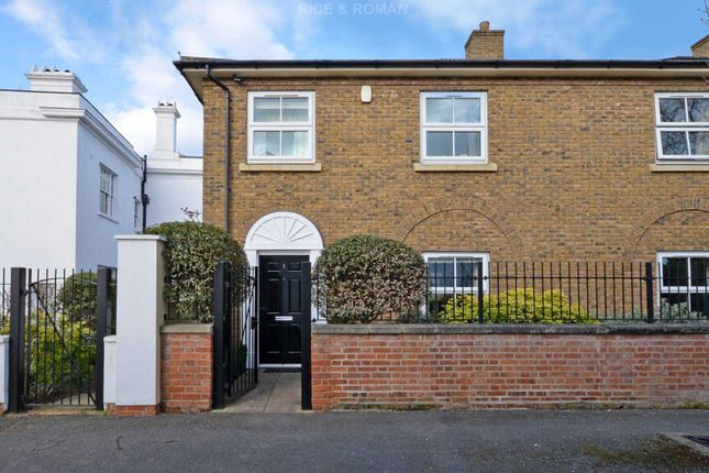 Thumbnail End terrace house for sale in Mill Lane, Byfleet, West Byfleet