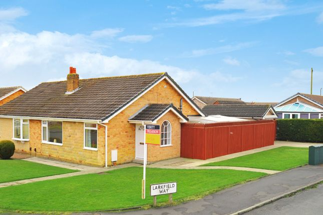 Thumbnail Semi-detached bungalow for sale in Larkfield Drive, Harrogate