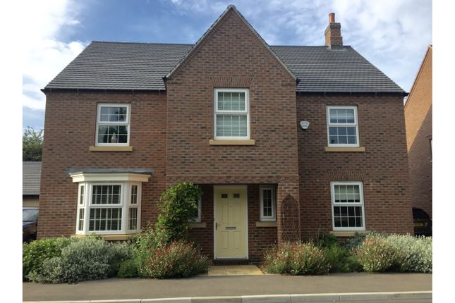 Thumbnail Detached house for sale in Longbreach Road, Kibworth