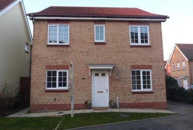 Thumbnail Detached house to rent in Turnbull Close, Kesgrave, Ipswich