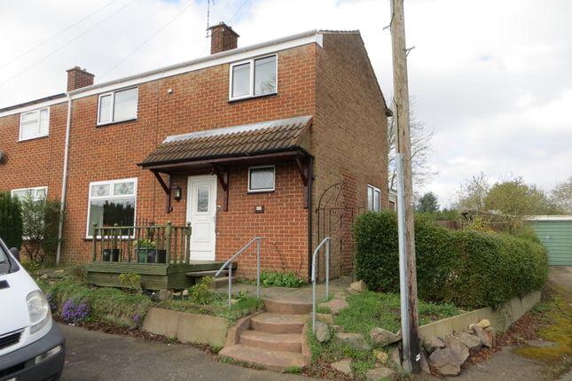 Thumbnail End terrace house to rent in Drayton Way, Nuneaton