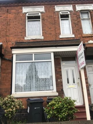 Thumbnail Terraced house to rent in Oxhill Road, Handsworth, Birmingham