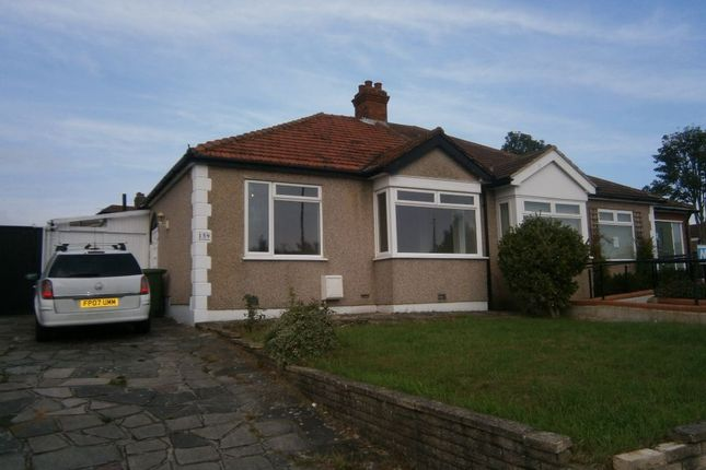 Thumbnail Semi-detached bungalow to rent in Blackfen Road, Sidcup, Kent