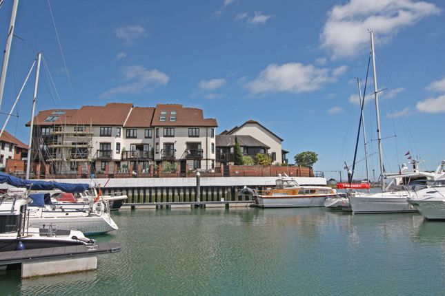 Thumbnail Town house for sale in Calshot Court, Channel Way, Ocean Village, Southampton