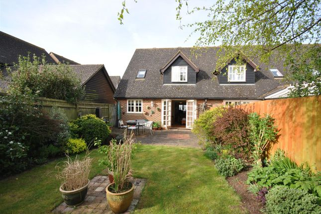 Thumbnail End terrace house for sale in Nashs Farm, Aston Abbotts, Aylesbury