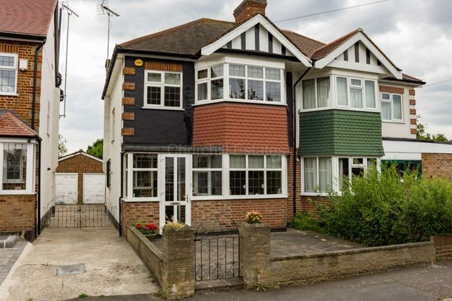 Thumbnail Semi-detached house for sale in Eaton Rise, Wanstead, London