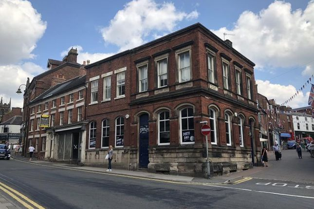 Thumbnail Leisure/hospitality to let in 23-25, St Edward Street, Leek