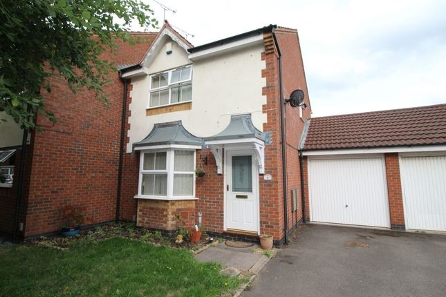 Thumbnail 3 bed terraced house to rent in Bayliss Avenue, Longford, Coventry