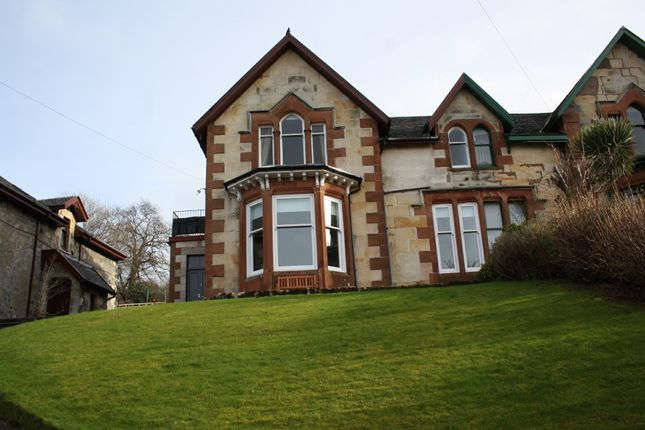 Thumbnail Flat for sale in 4 Crichton Road, Isle Of Bute, Rothesay