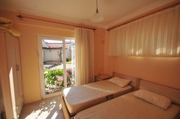 Twin Bedroom of Yaniklar Holiday Village, Fethiye, Muğla, Aydın, Aegean, Turkey