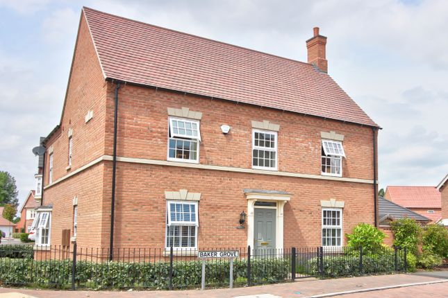Thumbnail Detached house for sale in Baker Grove, Ibstock