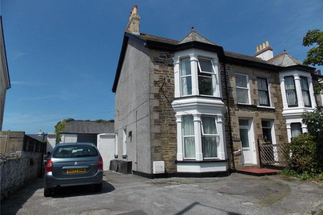 Thumbnail Semi-detached house for sale in Barncoose Terrace, Illogan Highway, Redruth