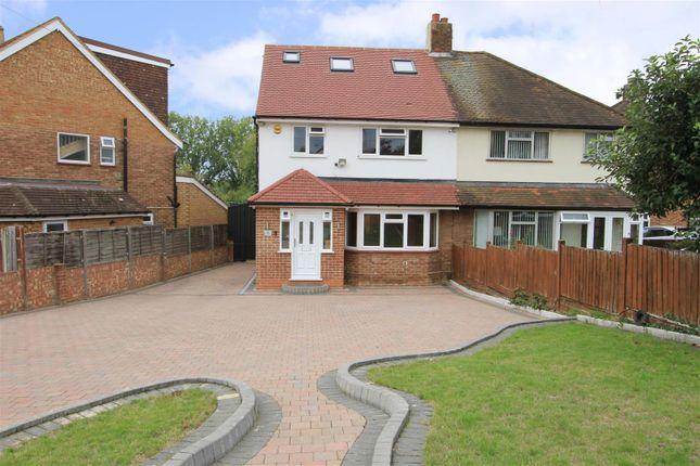 Thumbnail Semi-detached house for sale in Broadwater Lane, Harefield, Uxbridge
