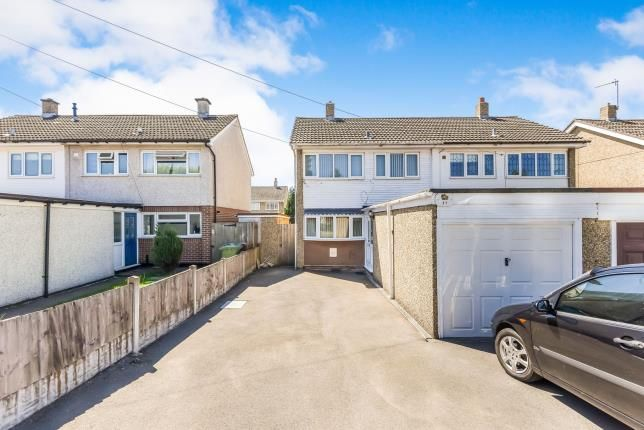 Thumbnail Semi-detached house for sale in Medway Road, Brownhills, Walsall, .